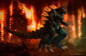 Mecha Godzilla Final Image by NoBackstreetboys