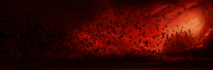 Dracula Untold - Blood Drenched Sky by Bostonology