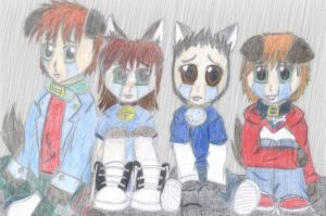 out in the rain by EllenorMererid