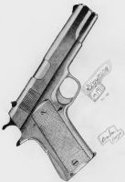 Browning M1911 by CptCuddles