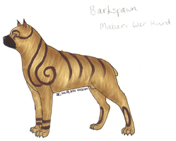 Barkspawn the Mabari by Angelkitty17