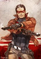 Jason Todd by fish-ghost