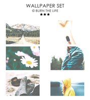 Wallpaper Set by Burn-the-life