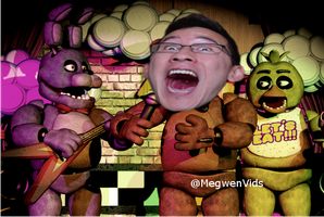Congrats Markiplier for finishing FNAF3 by Lenaleekitkat