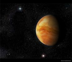 Canyon Planet by Betelgeuze01