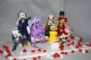 Rozen Maiden on couch set 2 by Mako-chan89