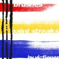 Paint Streaks by vcfgr