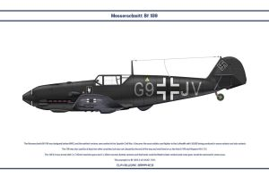 Bf 109 E-4 NJG1 1 by WS-Clave