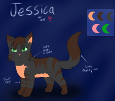 Jessica reference sheet by slycooper998