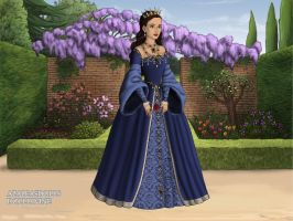 The Tudors: Princess Angela by moonprincess22
