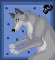 Griffith the Wolf by melleh