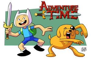 Adventure Time by BezerroBizarro