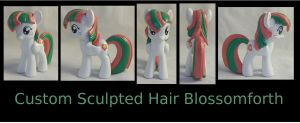 Custom Sculpted/Hard Hair Blossomforth by Gryphyn-Bloodheart