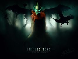 Fiddlesticks - Crowstorm by iNegacion