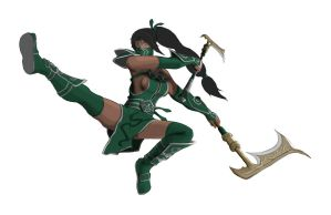 League of Legends - Akali, the Fist of Shadow pt3 by TacticianMark