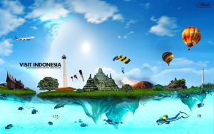 Visit Indonesia by Madarian
