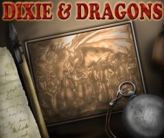 Dixie and Dragons by shinragod