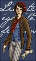 Liberte, egalite, fraternite by perfect-tea