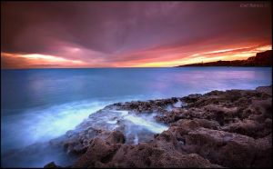 In Blood Red Skies by Inebriantia