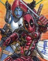 Mystique Deadpool FINAL AP by artstudio