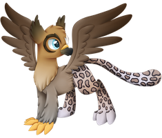 Griffin OC by Cloudy-Dreamscape