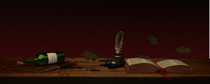 A book, and a knife by babylero