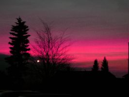 pink sunrise. by candyflesh
