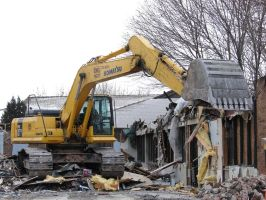 Burnt Demolition Site 2 by FantasyStock