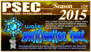 PSEC 2015 Water Purification Test PT03 by paradigm-shifting