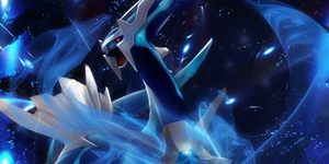 Dialga Roar of Time by Drayfrjg