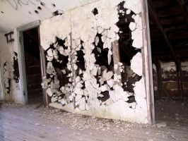 Abandoned Hotz Building 35 by Falln-Stock