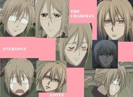 Everyone Loves the Chairman by shinigami-dragon