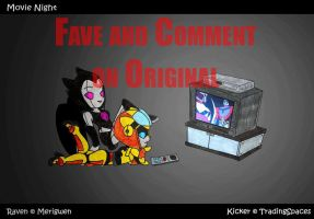 Movie Night by TradingSpaces by fembotsunite