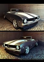 camaro front view by dhedheahmed