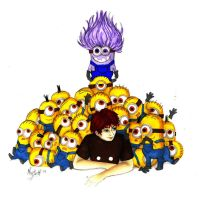 Pile of minions by Icemaya