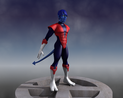 Nightcrawler 3D by Guido37