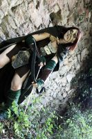 Quiet now. And learn. - Aela the Huntress COSPLAY by Gekroent
