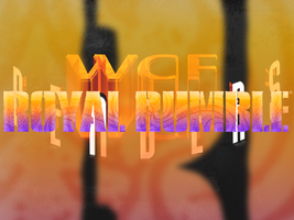 Royal Rumble 2012 Logo by w-c-f-r