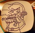 Link (plate) by LeAnimeFiend