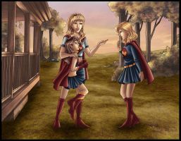 Supergirls - Family Meeting by kclcmdr