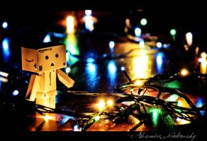 Danbo and Light by 10thapril