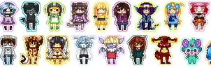 Collective Icons (1) by KatVizionz