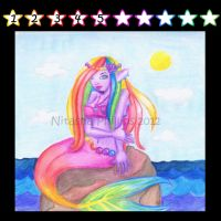 One Colorful Mermaid by Tanis711