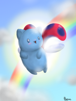 Catbug! by PegsieBelle
