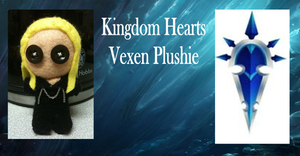 Kingdom Hearts Vexen Plushie by Jack-O-AllTrades