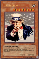 Uncle Sam Yugioh Card by McGreger16