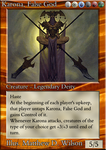 MTG: 'New-Classic' Gold Card by Ni9hth4wk