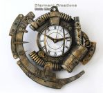 Steampunk Clock XIX by Diarment
