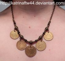10, 20 And 50 Para necklace by KatrinaFTW44