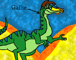 Gallie the Rainbow Face by conlimic000